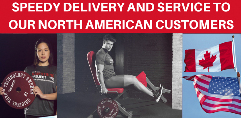 SPEEDY DELIVERY AND SERVICE TO OUR NORTH AMERICAN CUSTOMERS